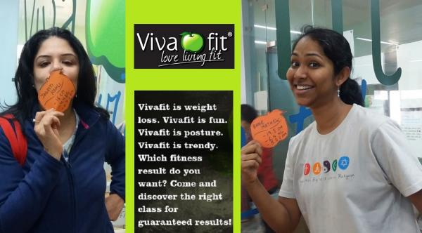 Working out at Vivafit will mean a lot more than weight loss. How about an elegant posture or the stamina and energy to sprint along your kids? But if it is weight loss you have on your mind, you will achieve that also at Vivafit! #womenonl - by Vivafit, Delhi