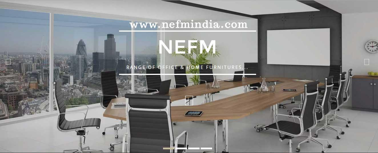 We at NEFM--- have a team of competent interior designers, planners, engineers, architects to give your office an international outlook. for more information contact us www.nefmindia.com   conference table in North Delhi,  conference table  - by Furniture Mart, South Delhi