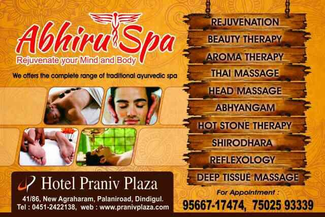 Best spa in dindigul - by Abhiru Spa 9566717474, Dindigul