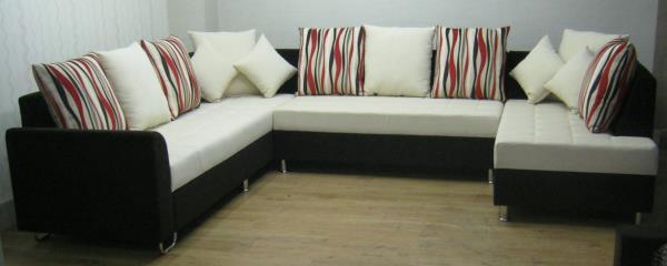 Corner Sofas in Pune. Customized sizes & design. Variety of fabric options.. - by Kozy Corner, Pune