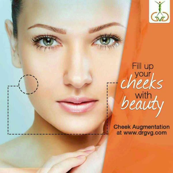 BEST Cheek Augmentation or Reduction or Sculpting for Chiselled Cheeks and Beautiful Face at DrGVG Aesthetic Clinics, Jayanagar, JP Nagar, Bangalore, India  - by DrGVG Aesthetic Clinics, Bangalore