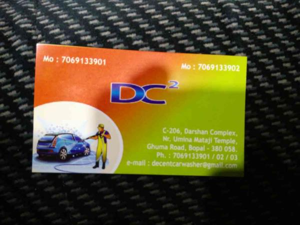 Car washing, car cleaning services in Bopal Ahmedabad. - by Decent Car Cleaning, Ahmedabad