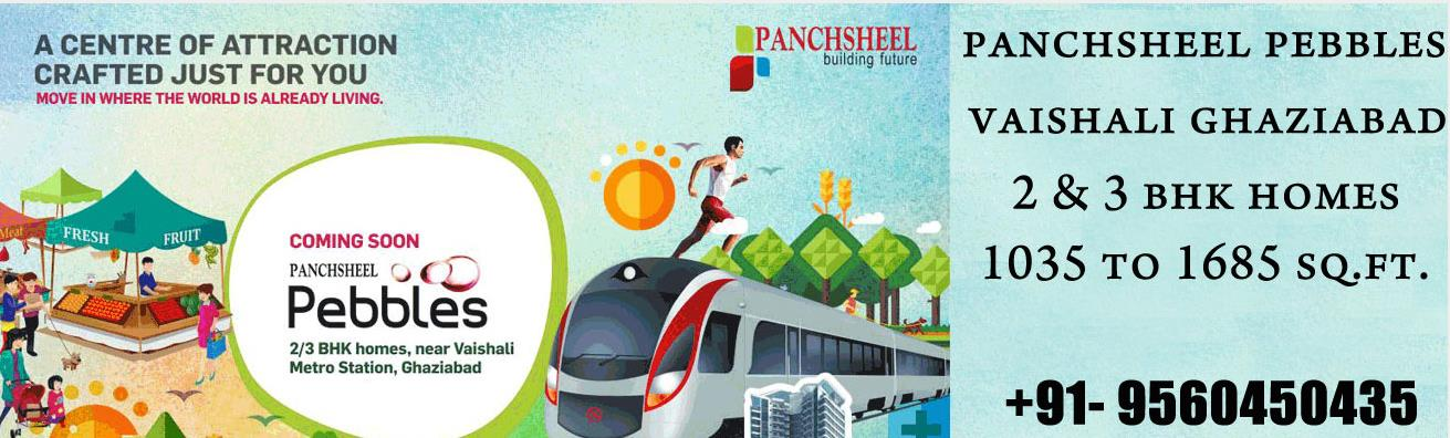 Panchsheel Pebbles Sector 3 Vaishali Ghaziabad will peculiarity conceptualized and created way to flats with a dream to make positive and solid environment for tenants. Every courtesy has been decently arranged by experienced experts rememb - by Panchsheel Pebbles, Ghaziabad