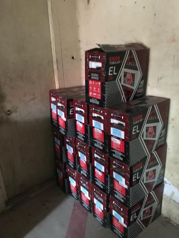 Exide EL tubular batteries - by Exide Power Centre, Hyderabad