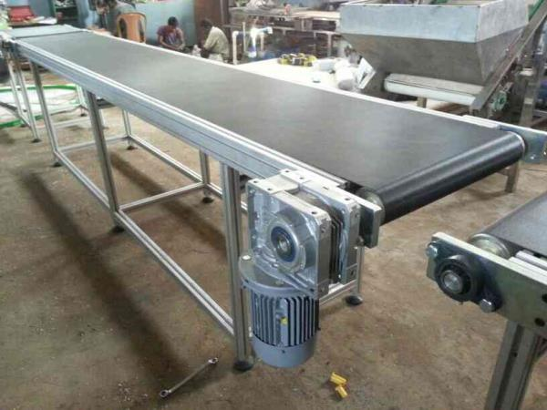 Belt conveyor of modular construction - by Orange Conveyor Systems, Chennai, Chennai