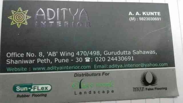 Gym Rubber flooring - by Aditya Interior, Pune