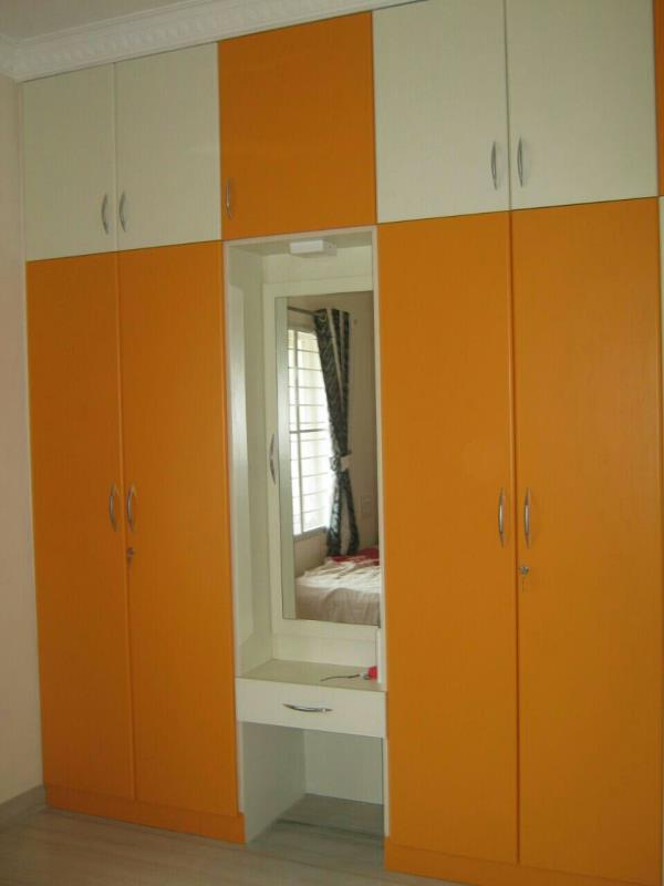 Wardrobes and coverings we provide  one stop factory finished solution for your dreamskitchen requirements - by Dream's Kitchen & Interiros, Chennai