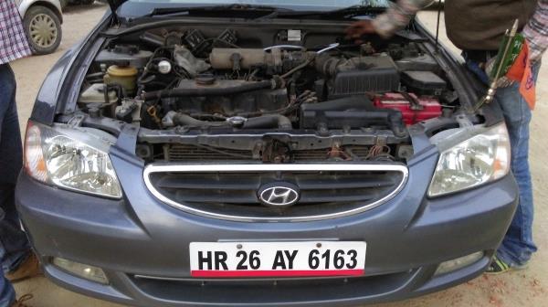 Aqua Hydro Booster HHO kit installed in Hyundai Verna - by Balaji Enterprises, Ghaziabad
