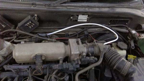 HHo kit hose pipe connection in Hyundai Accent. - by Balaji Enterprises, Ghaziabad