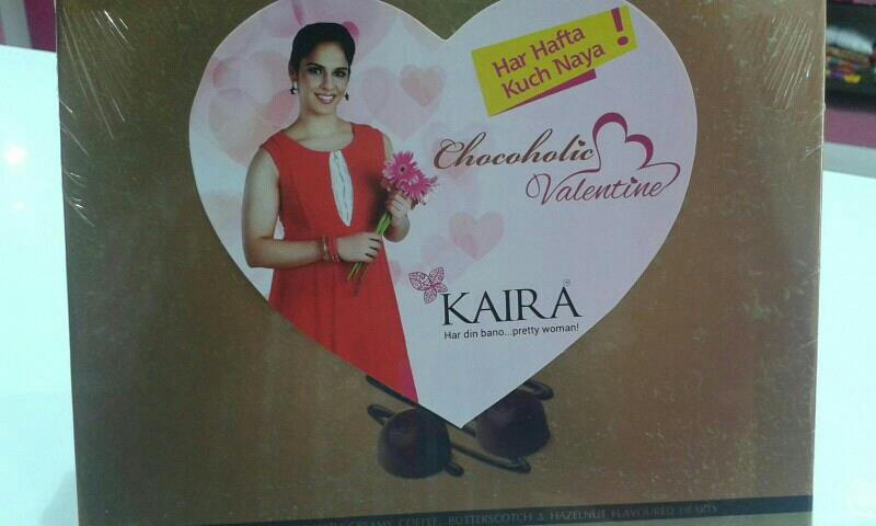 Kaira brings you a Chocoholic Valentine! Buy for INR 2499 & get a lush chocobox Free! Offer open 12-14 Feb only. Hurry...gift her a Kaira and show her you care! from        kaira nizampet. .. - by Kaira Nizampet , Hyderabad