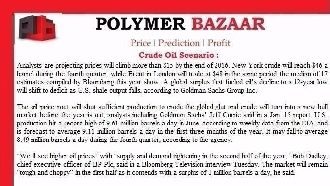 International Polymer offers at S.E.Asia added. - by Polymer Bazaar, Ahmedabad