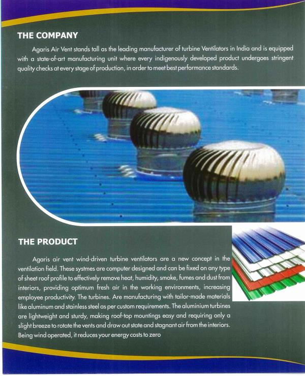 we are the best Air Ventilator in chennai - by Agaris Airvent Systems, Chennai