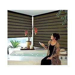 Motorized Shades Blinds in Chandigarh  With vast experience in this domain, we are catering to the wide requirements of our clients by providing optimum quality Motorized Shades Blinds. Following the set industry standards, these blinds are - by Opus Collections Inc, Chandigarh