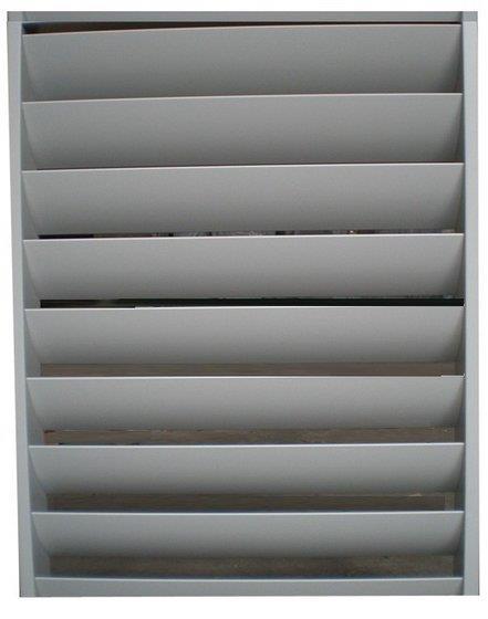 Aluminium Architectural Horizontal Window - by Agaris Airvent Systems, Chennai
