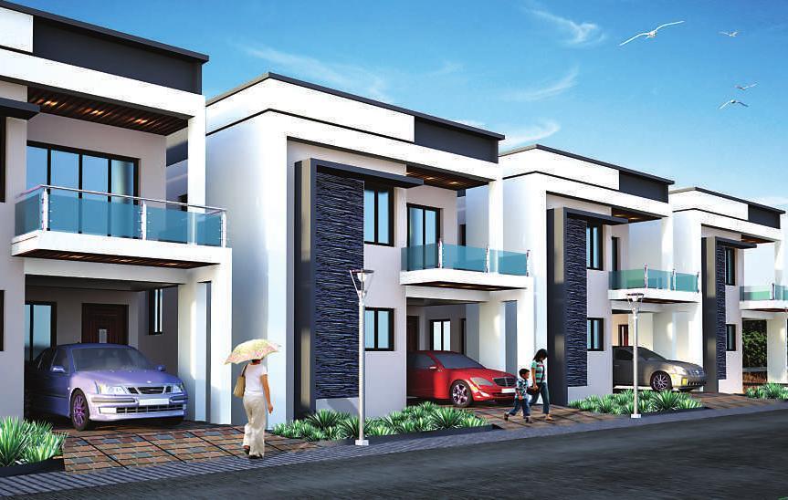 3 BHK Independent Houses and Villas for Sale in Rushikonda. Fast Fillings are in progress. #NavratnaEstates - by Navaratna Estates   Independent Duplex Villas, Visakhapatnam