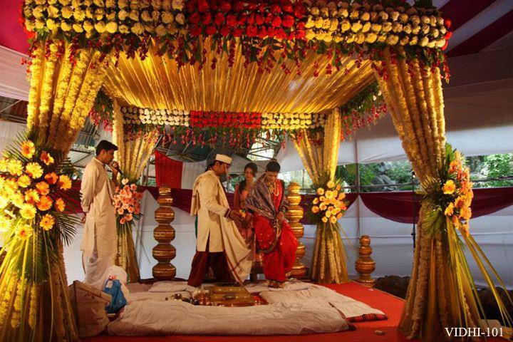 vidhi mandap - by Shree Sanap Decorators, Nashik