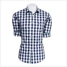 We are Leading Suppliers and Manufacturers of Blue Check Casual Shirts in Chennai, Banglore, hyderabad, kerala and India. - by KADHESH ENTERPRISES, Chennai