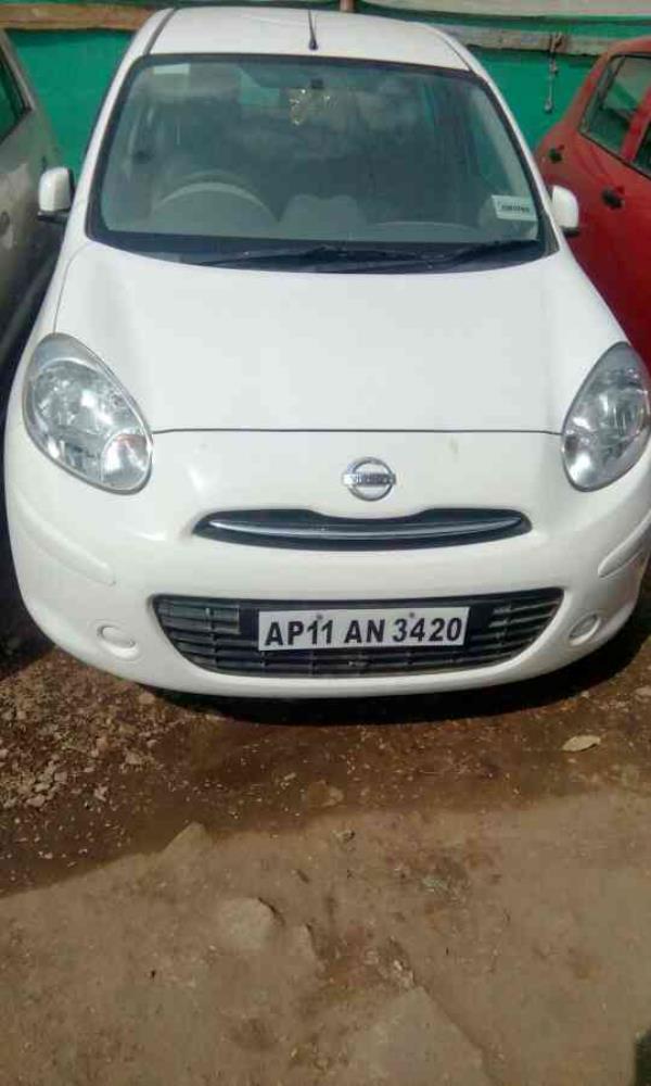 Nissan micra xv Premium 2012 diesel used car in hyderabad - by Aakanksha Cars, Hyderabad