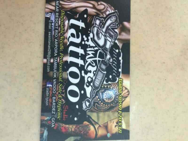 professional tatoo designer in goa - by Tatoo Studio, Goa