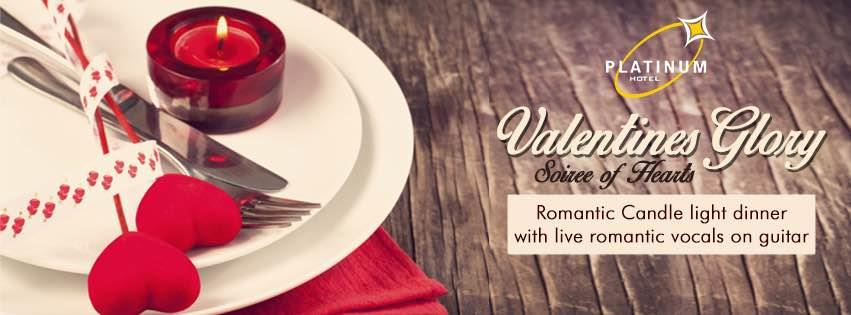 Spend a love filled evening in candle light this Valentines with the liver guitar playing romantic vocals. Book your table now!!  #ValentinesGlory #SoireeOfHearts - by Hotel Platinum Inn - Silver Dine Restaurant, Ahmedabad