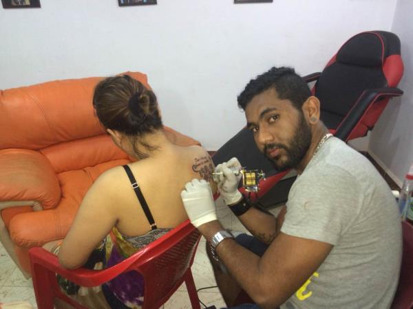 I love tattoos  - by MAGIC ink tattoo studio goa, North Goa