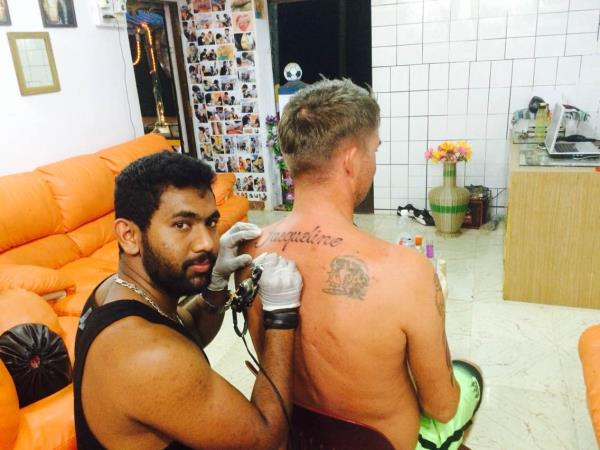 Back tattoo  - by MAGIC ink tattoo studio goa, North Goa