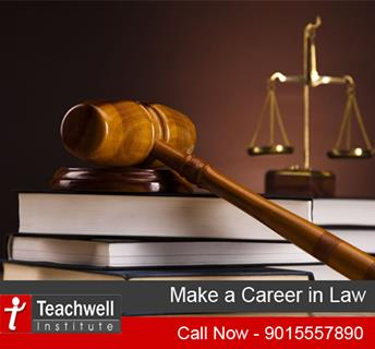 Law is one of the most respected and reputed careers in India since many years. Gone are the days when the career was associated with shabby courtrooms and long black robes. - by Teachwell Professional Studies Institute Pvt. Ltd.| GTB Nagar | 9310190899, Delhi