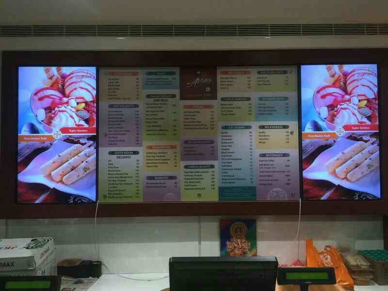 Digital Signage in Hyderabad Samsung Displays LFD @ Shubavsar Banjara Hill's - by Avitronics Projections Pvt Ltd Call 040-39594553, secunderabad