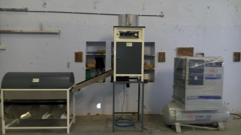 Automatic Cashew Nut Peeling machine - by Premium Cashew Industries, Ahmedabad