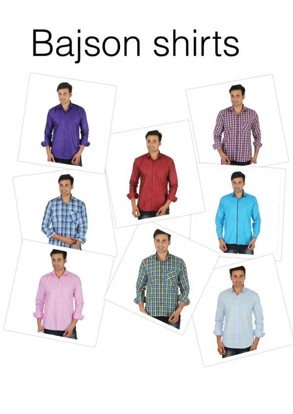 Shirts range 190-450 - by Bajson shirts, Delhi