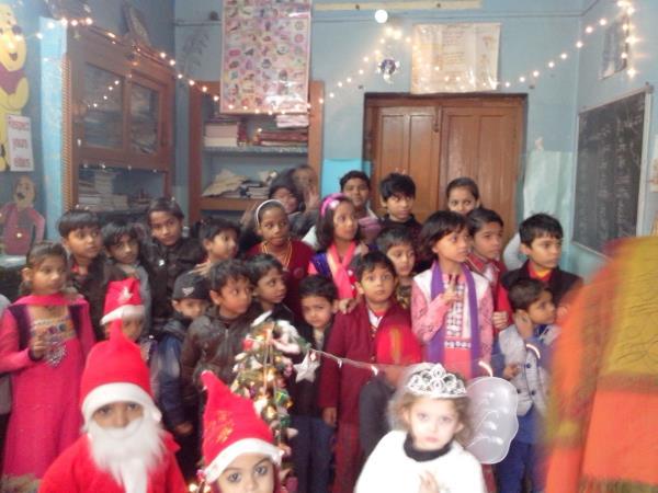 Christmas day. - by Vanessa Public School, Delhi