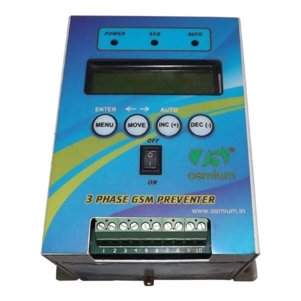 We are the Manufacturer, Exporter and Supplier of Mobile Starter, Mobile preventer and GSM Preventer for Three Phase Supply and Two Phase Supply in Coimbatore and all other Southern regions.  This Mobile Starter has the options of Dry Run P - by Vivek Agro Plast, Coimbatore