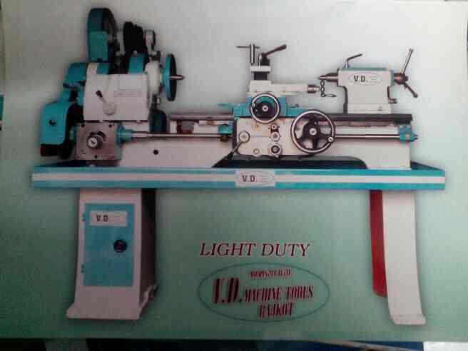 Light Duty Lathe Machine Manufacturer in Rajkot - by V.D.Machine Tools, Rajkot