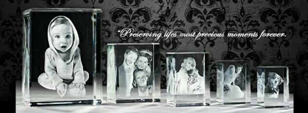 3D Crystal Photo  Printing in Virudhunagar. - by GREAT LOOK LASER ART, Sivakasi