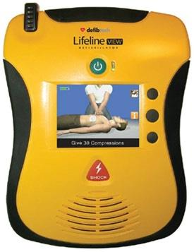 Automatic External Defibrillator(LifeLine) Meet the AED that's taking easy-to-use to a whole new level. The Lifeline VIEW family of defibrillators are the first and only AEDs with video in full-motion color. The Lifeline PRO offers professi - by Hospytek, Mohali