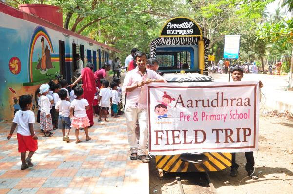 Dear Parents, Kindly collect your ward's Field Trip Photos from School. - by Aarudhraa Pre School, Pondicherry