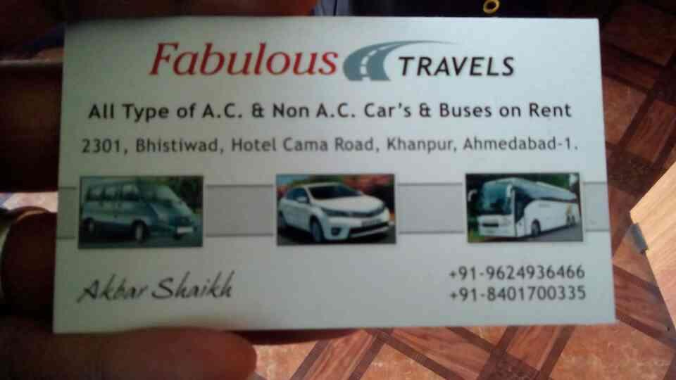 car on rent in ahmedabad - by Fabulous Travels, Ahmedabad