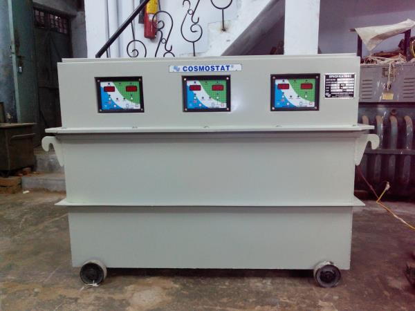 Servo Stabilizer Manufacturer in East Delhi  Electrical energy has become a basic necessity for our present living conditions. Electrical & electronics equipment from ordinary bulbs to sophisticated computer stations, from tiny toy motors t - by Cosmostat Industries, New Delhi