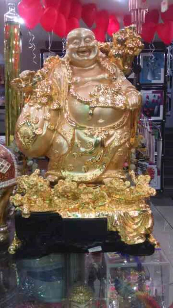 Gift shops in hyderabad  gift shops in panjagutta, best dealers in gift importers  product: standing laughing Buddha   - by Vincentiagifts, Hyderabad