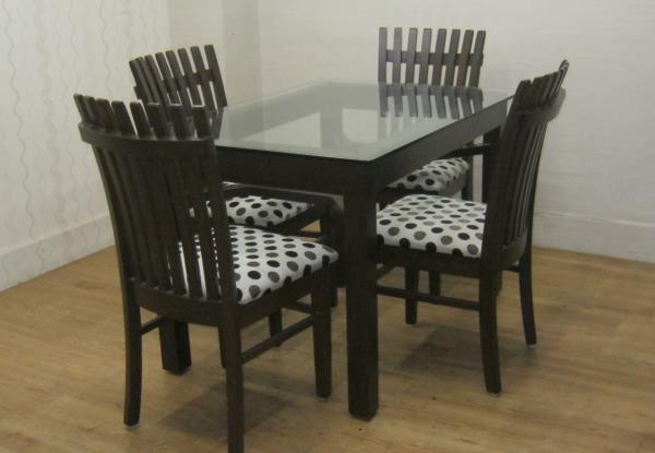 Wooden Dining Tables and Chairs - by Kozy Corner, Pune