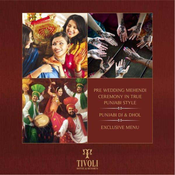 Punjabi Theme Wedding celebrations with full on joy and beat! Contact us @ #TivoliGarden (#Chattarpur Mandir Road): 9818553333, TivoliGrand (Main GT #Karnal Road): 9212466424, TivoliPushpanjali (#Airport Dwarka Link Road): 9212466400 and bo - by Tivoli Hotels & Resorts, Delhi