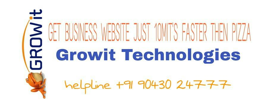 Get #Business #Website just 10MIT's #faster then #Pizza   #growit   #Growit #Technologies  Helpline +91 90430 24777 - by Growit, No.6, Thage Kuppu Samy Street