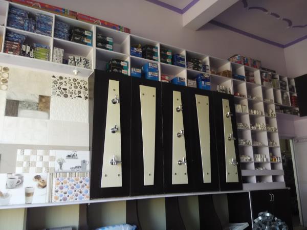 Interior design for shop  - by Agarwal Sanitary Hardware & Tiles, Alwar