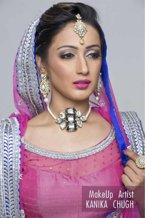 Makeup artist in Kalkaji . - by KANIKA CHUGH - PROFESSIONAL MAKEUP ARTIST, Delhi