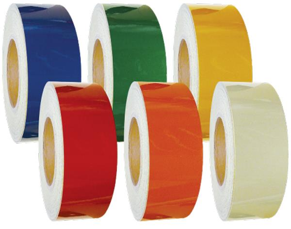 Reflective Tapes High visibility reflective tapes which are ideal for the night use markings and are made in material like cotton; nylon and polyester. We customize labels or logos which are marked with all the pertinent information like o - by Jonson Tapes LTD., New Delhi