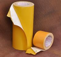 Double Sided Cotton Tapes Double sided cotton, polyester tapes with strong adhesive play a very useful role in flexo printing, gripping of objects on glass, metals, wood etc.  For more info...  http://www.jonsontapes.com/lamination-tapes.ht - by Jonson Tapes LTD., New Delhi