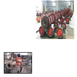 We are the Leading Manufacturer of RCC Spun Pipe Making Machine  for pipe manufacturers in Hyderabad.Made utilizing prevalent quality parts, these pipe making machines are in pair with worldwide quality models. Every one of these machines a - by Boltas Mechanical Engineering, Hyderabad