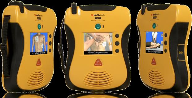Lifeline VIEW AED The AED with a view Meet the AED that's taking easy-to-use to a whole new level. Other AEDs tell you what to do in an emergency. The Lifeline VIEW is the first and only one that shows you--with video in full-motion color.  - by Hospytek, Mohali