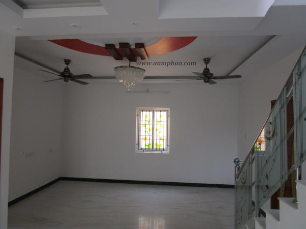 Gypsum board ceiling aamphaa showroom in chennai india for Living room designs chennai