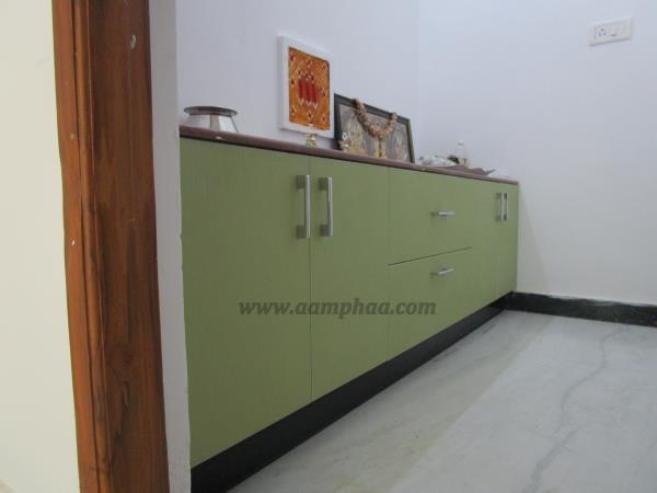 types of Pooja design, modular kitchen, Bedroom Wardrobe, Loft designs ...